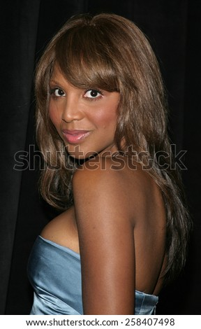 BEVERLY HILLS, CALIFORNIA. May 19, 2005. Grammy Award-winning recording artist Toni Braxton attends at the Triumph of the Spirit Awards Gala at the Beverly Hilton Hotel in Beverly Hills.  - stock photo