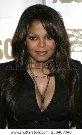 BEVERLY HILLS, CALIFORNIA. May 16, 2005. Janet Jackson attends at the 22nd Annual ASCAP Pop Music Awards at the Beverly Hilton Hotel in Beverly Hills, California. - stock photo
