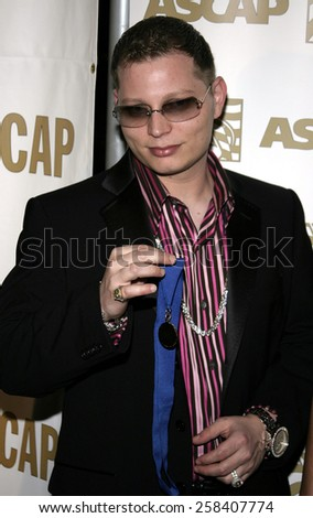 BEVERLY HILLS, CALIFORNIA. May 16, 2005. Scott Storch attends at the 22nd Annual ASCAP Pop Music Awards at the Beverly Hilton Hotel in Beverly Hills, California. - stock photo