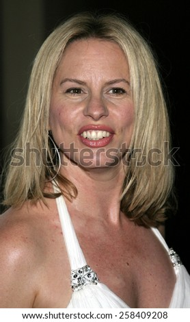 BEVERLY HILLS, CALIFORNIA. May 16, 2005. Vonda Shepard attends at the 22nd Annual ASCAP Pop Music Awards at the Beverly Hilton Hotel in Beverly Hills, California. - stock photo