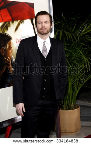 """BEVERLY HILLS, CALIFORNIA - November 15, 2011. Eric Matheny at the Los Angeles Premiere of """"The Descendants"""" held at the AMPAS Samuel Goldwyn Theater, Los Angeles.  - stock photo"""