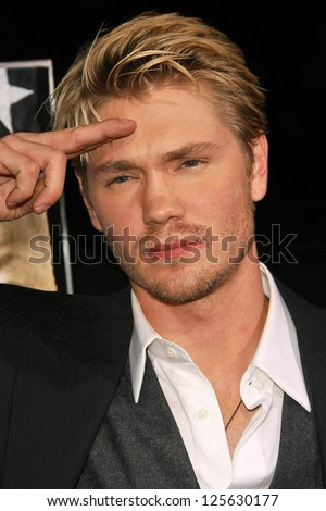 "BEVERLY HILLS - DECEMBER 05: Chad Michael Murray at the World Premiere of ""Home of the Brave"" on December 05, 2006 at The Academy of Motion Picture Arts and Sciences, Beverly Hills, CA."