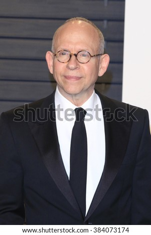 BEVERLY HILLS - FEB 28: Bob Balaban at the 2016 Vanity Fair Oscar Party on February 28, 2016 in Beverly Hills, California - stock photo