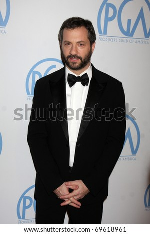 BEVERLY HILLS - JAN 22:  Judd Apatow arrives at the 22nd Annual Producers Guild Awards at Beverly Hilton Hotel on January 22, 2011 in Beverly Hills, CA - stock photo