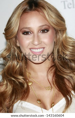 BEVERLY HILLS - JUL 12:  Adrienne Bailon of The Cheetah Girls at the Disney ABC Television Group Summer All Star party on July 12, 2008 in Beverly Hills, California. - stock photo