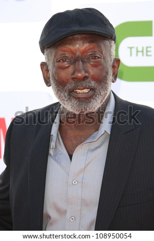 BEVERLY HILLS - JUL 29: Garrett Morris at the 2012 TCA CBS, Showtime and The CW Summer Press Tour party on July 29, 2012 in Beverly Hills, California - stock photo