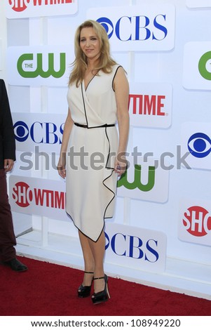 BEVERLY HILLS - JUL 29: Lisa Kudrow at the 2012 TCA CBS, Showtime and The CW Summer Press Tour party on July 29, 2012 in Beverly Hills, California