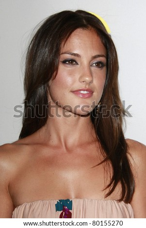 BEVERLY HILLS - JUL 20: Minka Kelly at the NBC Universal 2008 Press Tour All-Star party in Beverly Hills, California on July 20, 2008