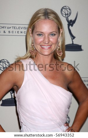 BEVERLY HILLS - JUN 24:  Sharon Case arrives at the TV Academy's reception for the 2010 Daytime Emmy Awards Nominees SLS Hotel At Beverly Hills on June 24, 2010 in Beverly Hills, CA