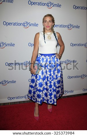 BEVERLY HILLS - OCT 2: Busy Philipps at the Operation Smile's 2015 Smile Gala  on October 2, 2015 at the Beverly Wilshire Four Seasons Hotel in Beverly Hills, CA. - stock photo