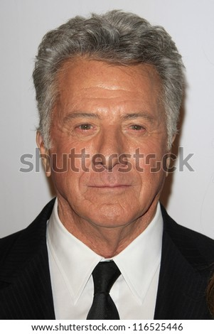 BEVERLY HILLS - OCT 22: Dustin Hoffman at the 16th Annual Hollywood Film Awards Gala at The Beverly Hilton Hotel on October 22, 2012 in Beverly Hills, California