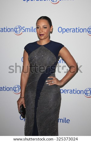 BEVERLY HILLS - OCT 2: Melanie Brown at the Operation Smile's 2015 Smile Gala  on October 2, 2015 at the Beverly Wilshire Four Seasons Hotel in Beverly Hills, CA. - stock photo