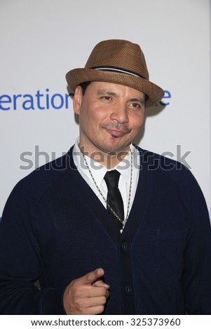 BEVERLY HILLS - OCT 2: Mix Master Mike at the Operation Smile's 2015 Smile Gala  on October 2, 2015 at the Beverly Wilshire Four Seasons Hotel in Beverly Hills, CA. - stock photo