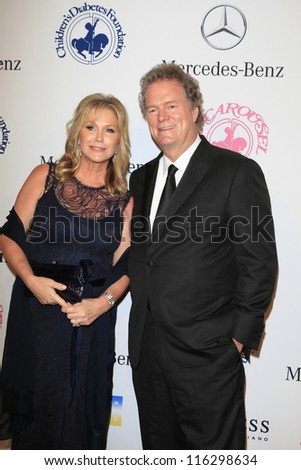BEVERLY HILLS - OCT 20:  Rick Hilton, Kathy Hilton at the 26th Carousel Of Hope Ball at The Beverly Hilton Hotel on October 20, 2012 in Beverly Hills, California