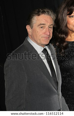 BEVERLY HILLS - OCT 22: Robert DeNiro at the 16th Annual Hollywood Film Awards Gala at The Beverly Hilton Hotel on October 22, 2012 in Beverly Hills, California