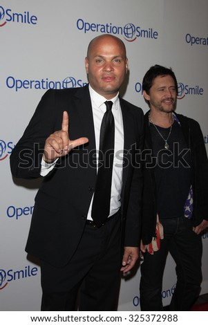 BEVERLY HILLS - OCT 2: Stephen Belafonte at the Operation Smile's 2015 Smile Gala  on October 2, 2015 at the Beverly Wilshire Four Seasons Hotel in Beverly Hills, CA. - stock photo