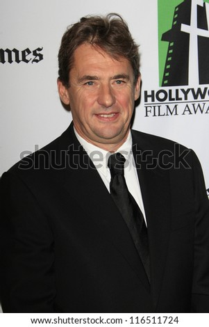 BEVERLY HILLS - OCT 22: Tim Bevan at the 16th Annual Hollywood Film Awards Gala at The Beverly Hilton Hotel on October 22, 2012 in Beverly Hills, California