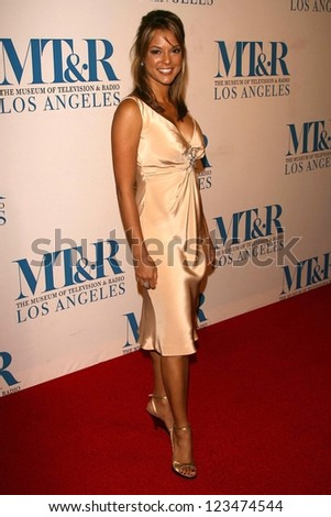 BEVERLY HILLS - OCTOBER 30: Eva LaRue at The Museum of Television & Radio's Annual Los Angeles Gala at Regent Beverly Wilshire Hotel on October 30, 2006 in Beverly Hills, CA. - stock photo