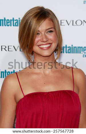 BEVERLY HILLS - SEP 20: Adrianne Palicki at the 6th Annual Entertainment Weekly Pre-EMMY party  on September 20, 2008 in Beverly Hills, California - stock photo