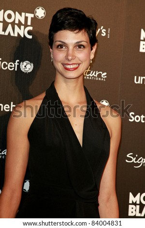 BEVERLY HILLS - SEP 17: Morena Baccarin at the Montblanc Charity Auction Gala to Benefit Unicef  in Beverly Hills, California on September 17, 2009 - stock photo