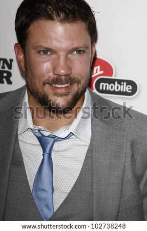 BEVERLY HILLS - SEPT 21: Craig Chapman at the 'Machine Gun Preacher' Los Angeles premiere at Academy of Television Arts & Sciences on September 21, 2011 in Beverly Hills, CA - stock photo