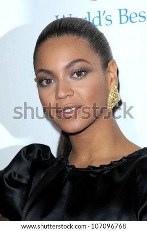 Beyonce Knowles  at the Los Angeles Premiere of 'Cadillac Records'. The Egyptian Theater, Hollywood, CA. 11-24-08 - stock photo