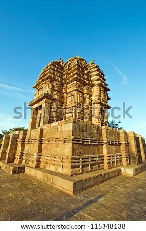 Bhaskareswar Temple, Bhubaneswar, Orissa, India - stock photo