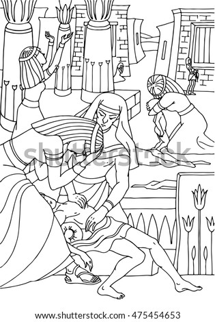 Bible Stories In Pictures And Ideas For Coloring