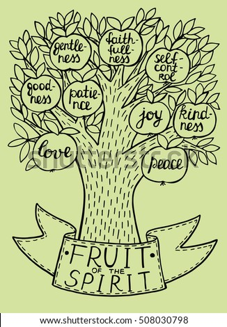 Clip Art Of The Fruits Of The Spirit