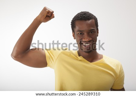 Bicep and Shoulder - stock photo