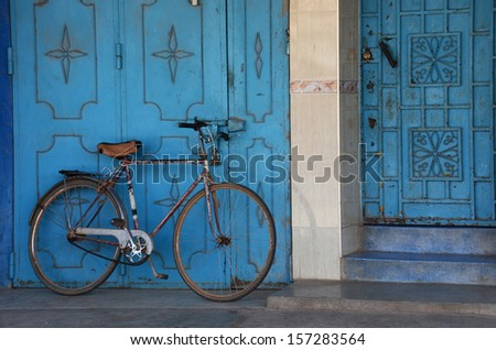 bicycle - stock photo