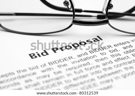 Bid Proposal Stock Images, Royalty-Free Images & Vectors