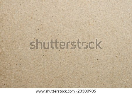 Biege textured cardboard background - stock photo