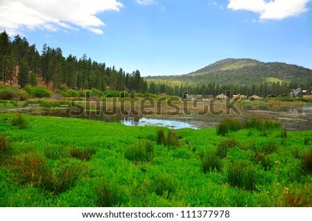 Big bear lake, California - stock photo