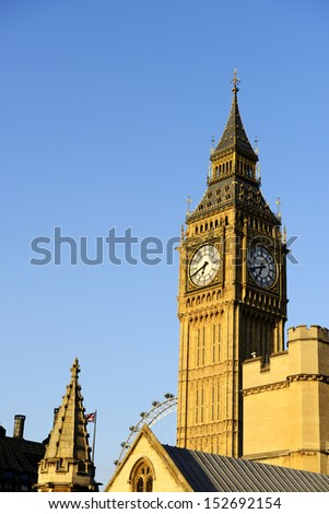 Big Ben, England. - stock photo