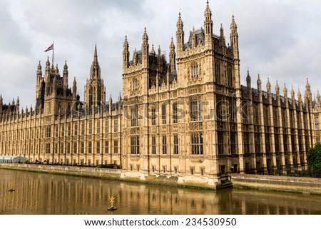 Big Ben in London - stock photo