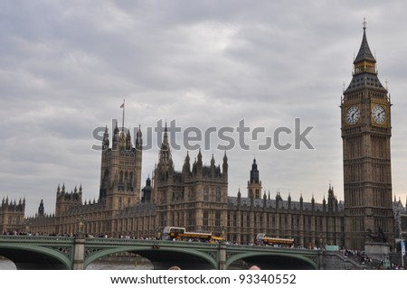 Big Ben in London, England