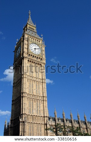 Big Ben in the Summer