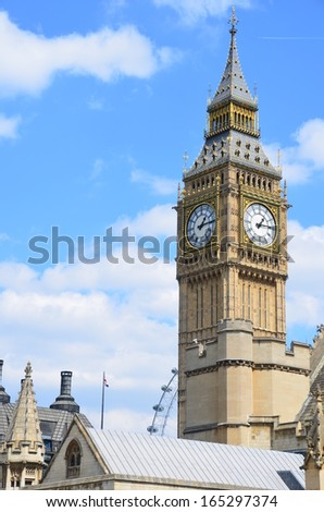 Big Ben, London - stock photo