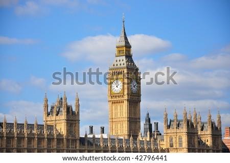Big Ben London - stock photo