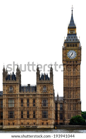 Big Ben - Westminster, London - stock photo