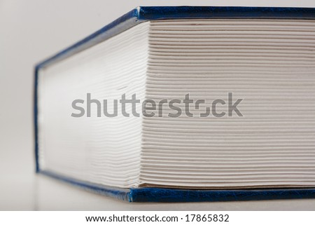 big book closeup - stock photo