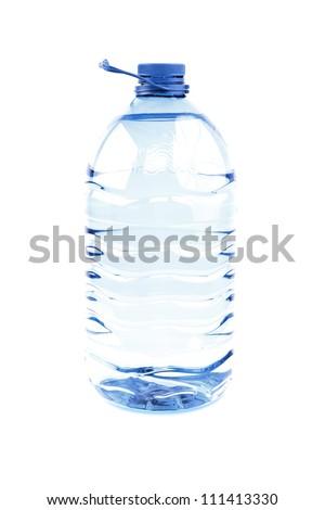 Big bottle of water - stock photo