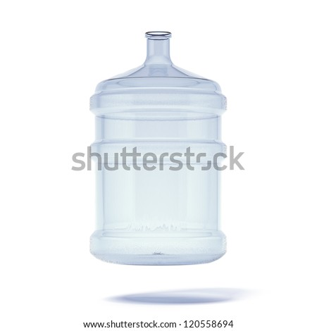 Big bottle of water for delivery - stock photo
