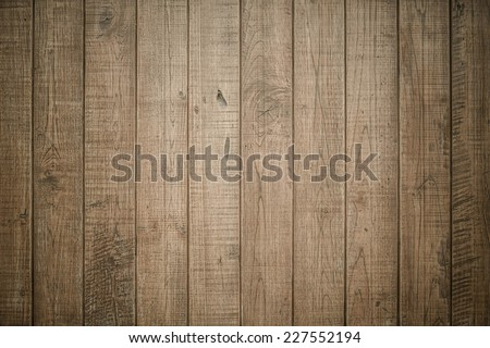 Big brown wood plank texture background, old panels - stock photo
