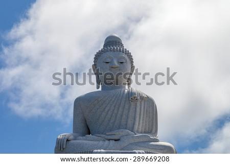 Big Buddha statue in Phuket, Thailand - stock photo