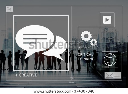 Big Business People Meeting Creative Teamwork Concept - stock photo