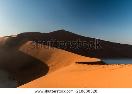 big daddy dune - stock photo