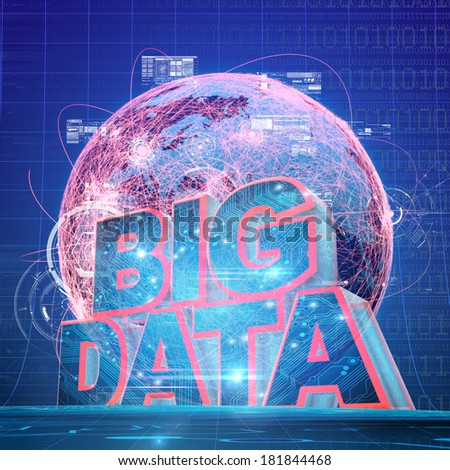 BIG DATA concept IV - stock photo