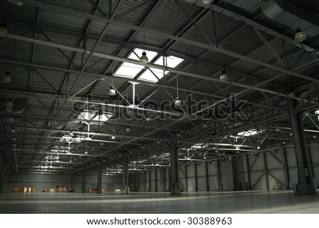 big empty plant - stock photo